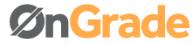 OnGrade logo